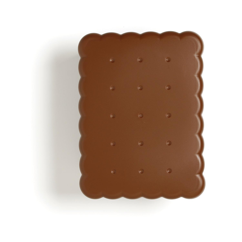 Salva biscotto sagomato Snips Trasparente Coperchio Marrone